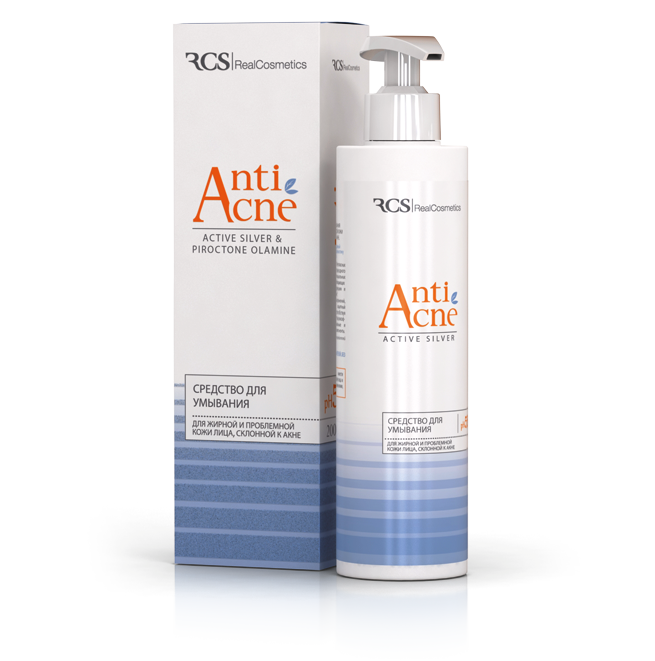 RCS Anti Acne cleanser